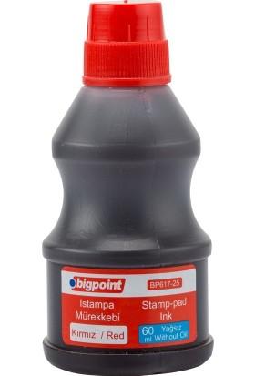 Bigpoint Bp617-25 Istampa Murekkebı 60Ml Kırmızı