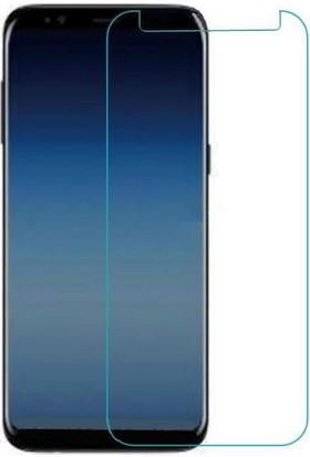 Notebookuzman Samsung Galaxy A8 Plus 2018 A730F Kırılmaz Ekran Koyuyucu Temperli Cam