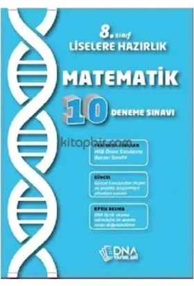 Dna 8. Sınıf Matemetik 10 Lu Deneme Sınavı-Yeni