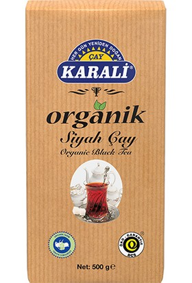 Karali Organik Dökme Siyah Çay 500 gr