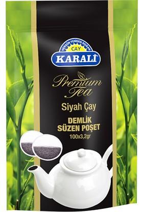 Karali Premium Demlik Poşet Siyah Çay 100'lü (doypack)
