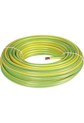 Egetech Topraklama Kablosu 0,75 Mm Kablo Sarı-Yeşil 100 Mt Çok Telli