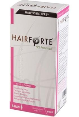 Hairforte Saç Spreyi̇ Bayan 60 ml