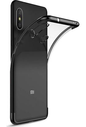 Casestore Xiaomi Redmi S2 Kenarları Renkli Lazer Silikon Kılıf