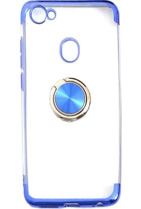Casestore Casper Via G3 Kılıf Yüzüklü Mıknatıslı Standlı Lazer Kaplama Kılıf + Nano Ekran Koruyucu