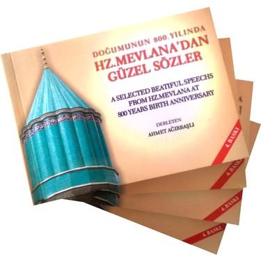 Hz. Mevlana'dan Güzel Sözler Türkçe İngilizce 4'lü Kitabı