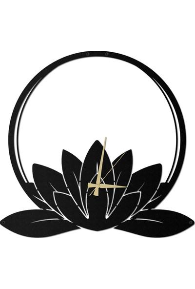 Artepera Lotus Metal Duvar Saati - APS038 49 x 49 cm