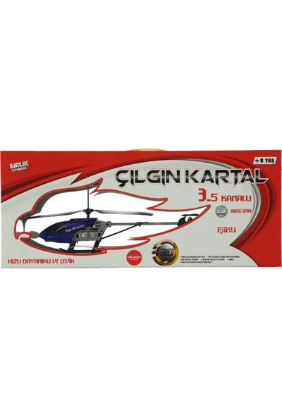 Birlik Oyuncak Uzaktan Kumandalı Çılgın Kartal Helikopter 3,5 Kanal