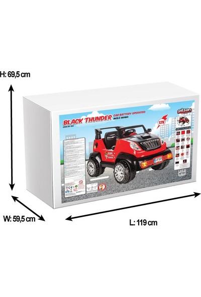 Pilsan Black Thunder Akülü Jeep 12 V