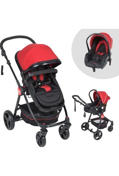 Kanz Cameron Travel Sistem Bebek Arabası Kırmızı