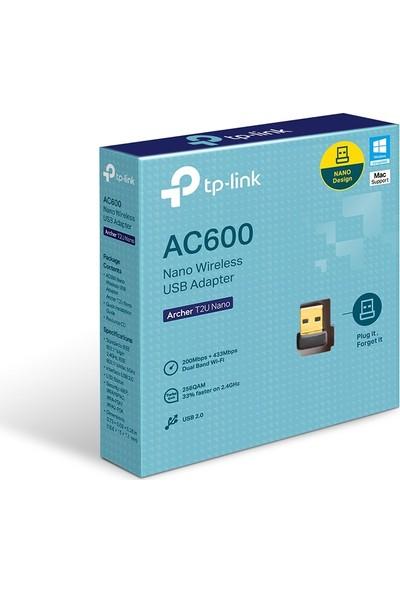 TP-Link Archer T2U Nano AC 600 Mbps Nano Wireless USB Adaptör