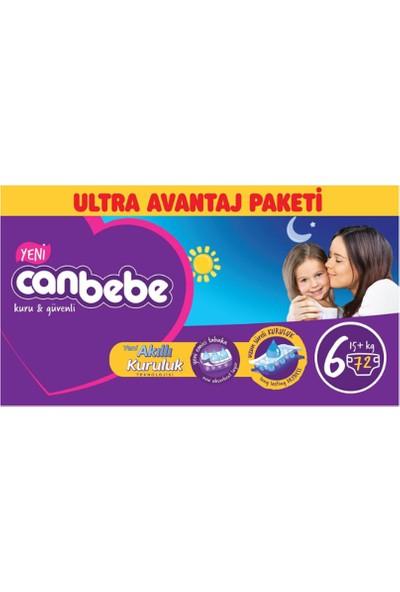 Canbebe Bebek Bezi Online Özel Paket 6 Beden 72 Adet