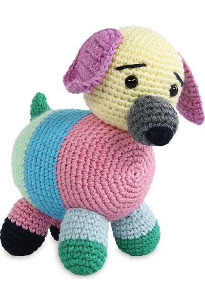 Amigurumi Atölyesi Renkli Köpek Amigurumi