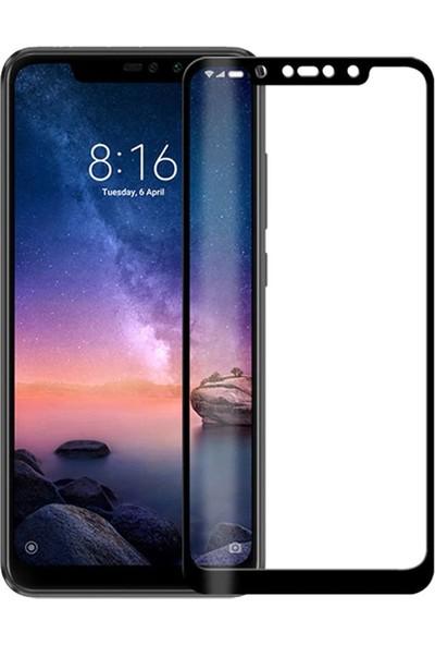 Melikzade Xiaomi Redmi Note 6 Pro Ekranı Tam Kaplayan Temperli Cam Ekran Koruyucu