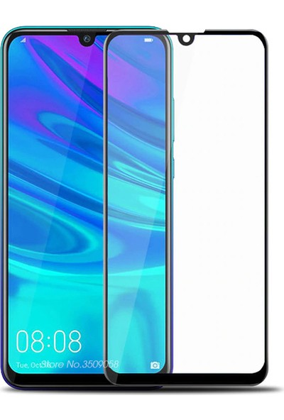 Melikzade Huawei P Smart 2019 Tam Kaplayan 5D Ekran Koruyucu Cam