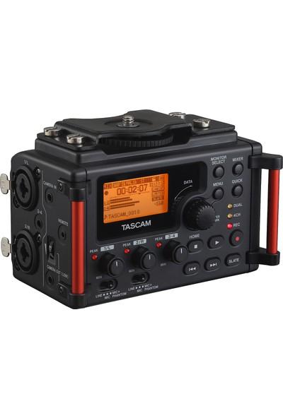Tascam Dr 60DMKIII DSLR Kameralar Taşınabilir Stereo Ses Kayıt Cihazı