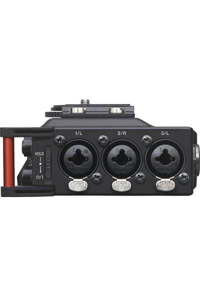 Tascam Dr70D DSLR Fotoğraf Makineleri Dört Kanallı Ses Kayıt Cihazı
