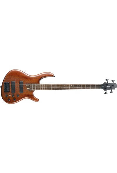 Cort Bas Gitar, Open Pore Maun, (Bartolini Mk1-4F & Mk-1