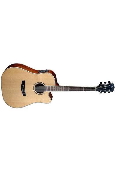 Cort Elektro Akustik Cutaway Gitar, Parkwood Serisi, Çan