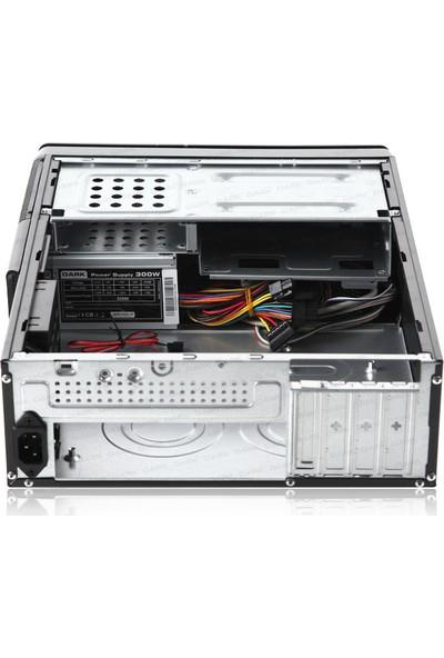Dark Aura 300W Kart Okuyuculu USB3.0 Micro ATX Slim Kasa (DKCHAURA300U3)