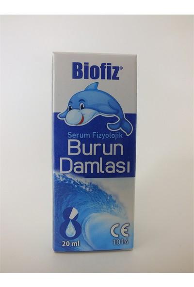 Biofiz Serum Fizyolojik Burun Damlası 20 ml