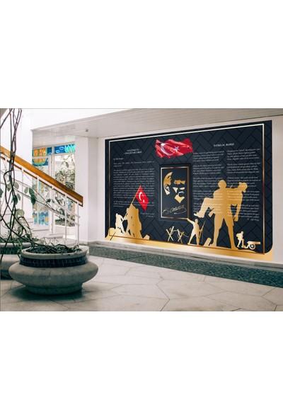 Ega Atatürk Köşesi Duvar Sticker