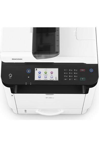 Ricoh Sp330Sfn Yazıcı Tarayıcı Fotokopi Fax Network Siyah Beyaz