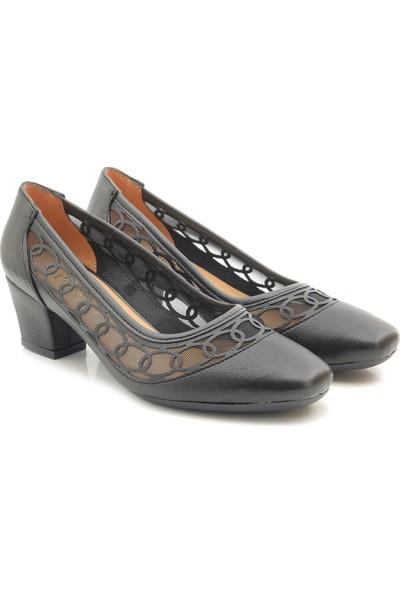 Park Moda S301 Klasik Alçak Topuk Kadın Ayakkabı