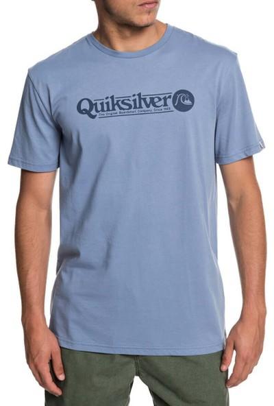 Quiksilver Arttıckless M Tees Açık Gri Erkek T-Shirt