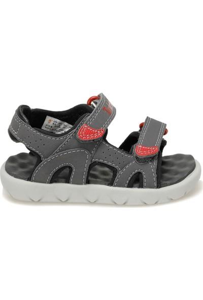 Timberland Perkıns Row 2-Strap Gri Unisex Çocuk Sandalet