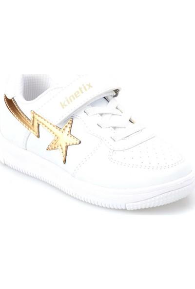 Kinetix Kalen Girl Beyaz Kiz Çocuk Sneaker Ayakkabi