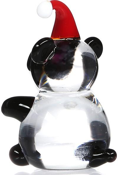 1200 Derece Bereli Panda Cam Biblo