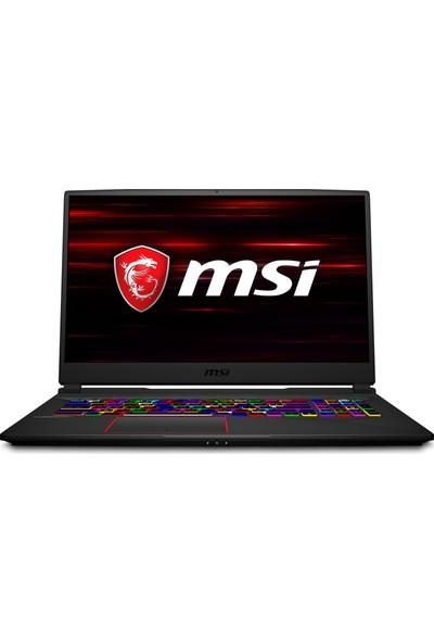 "MSI GE75 Raider 9SF-404XTR Intel Core i7 9750H 16GB 1TB + 256GB SSD RTX2070 Freedos 17.3"" FHD Taşınabilir Bilgisayar"