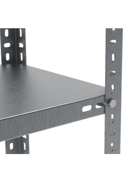 Rafçızade Çelik Raf 31 x 93 2 mt Yükseklik 4 Katlı 2 Ünite