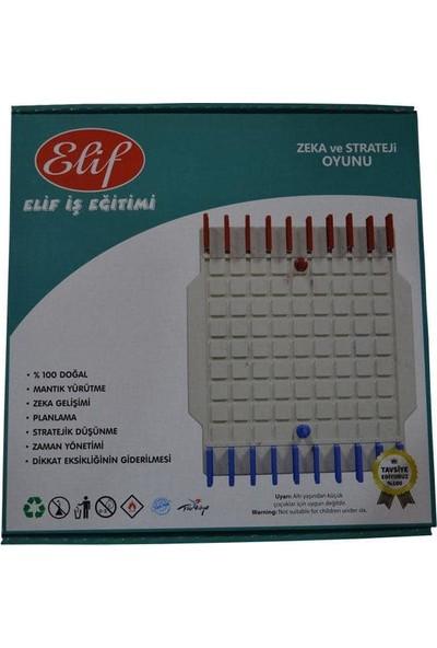 Elif İş Eğitimi Plastik Koridor Zeka Oyunu, Barikat (Koridoor), Labirent, Strateji Oyunu,