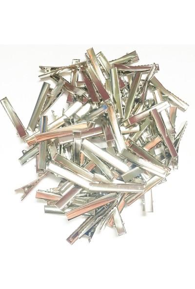 Byozras Metal Pens Toka - Timsah Toka - 4,5 Cm - 50 Li Paket