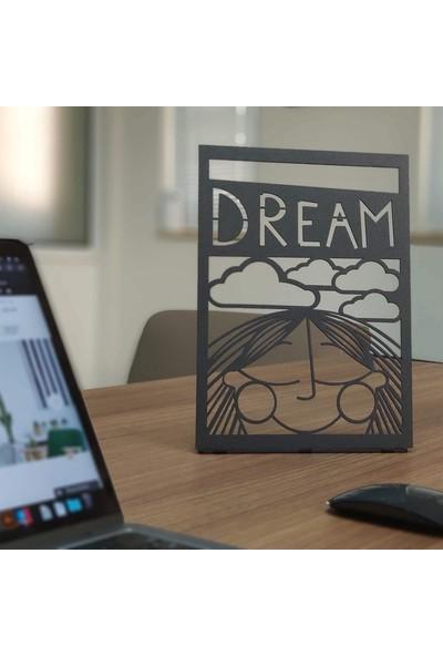 Pirudem Dream POD Metal Tablo 20 x 30 cm