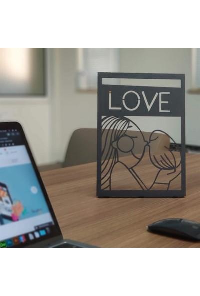 Pirudem Only Love POD Metal Tablo 20 x 30 cm