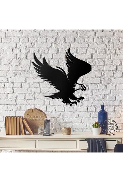 Pirudem Black Eagle Metal Tablo 50 x 51 cm