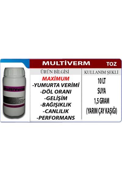 Vermx-Tr Multiverm Yumurta Verimini Artırıcı - Gelişim İçin Tavuk Civciv Keklik Kaz Vitamini