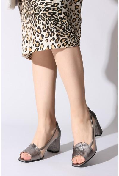 Rovigo Plus Kadın Platin Ayakkabı