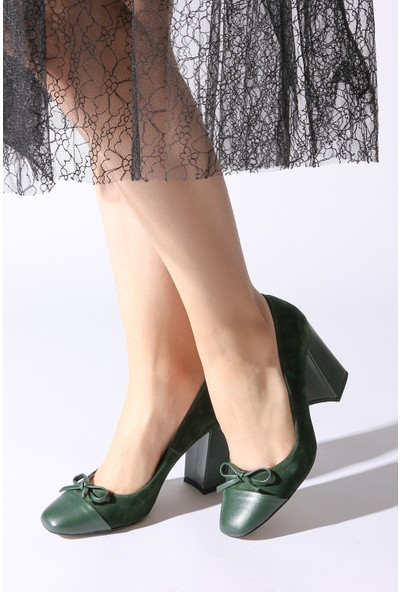 Rovigo Plus Kadın Haki Ayakkabı