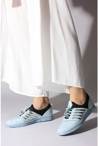 Rovigo Plus Kadın Mavi Ayakkabı