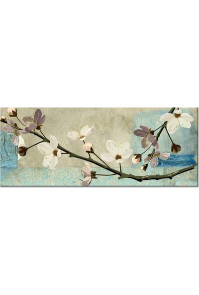 Özverler Çiçek Kanvas Tablo Cige-1016 40 x 100