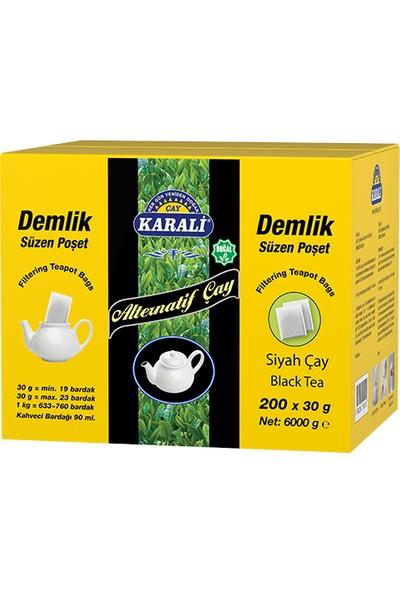 Alternatif Jumbo Demlik Poşet Siyah Çay 200x30 gr