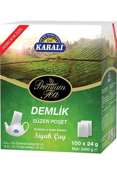 Premium Jumbo Demlik Poşet Siyah Çay 100x24 gr