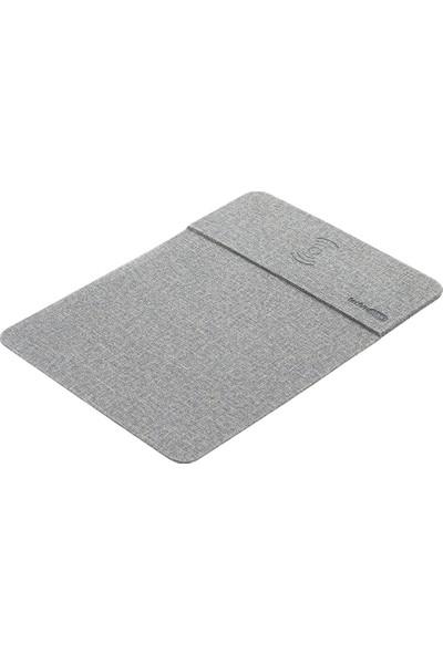 Mas Wireless Mouse Pad Gri 6614