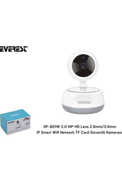 Everest DF-801W 2.0 MP HD 2.8/3.6 mm IP Smart Wi-Fi TF Card Kamera