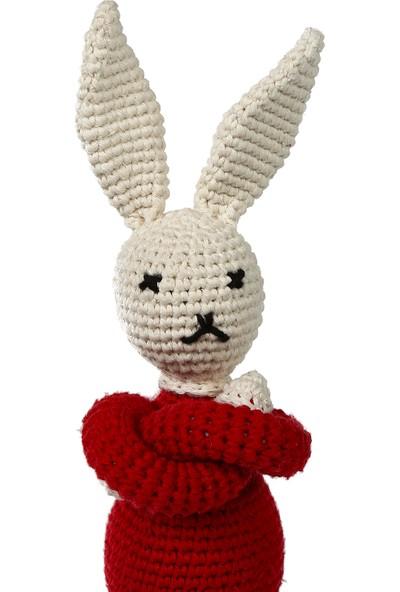 Yakın Doğa Amigurumi Kırmızı Tavşan