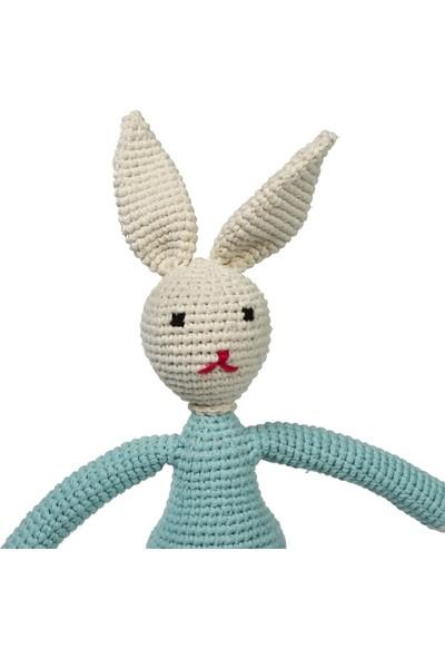 Yakın Doğa Amigurumi Mavi Tavşancık